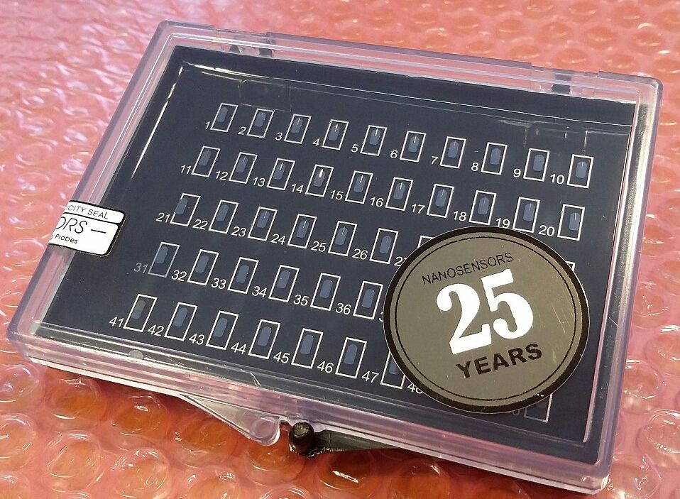 NANOSENSORS AFM tips celebrate their 25th anniversary