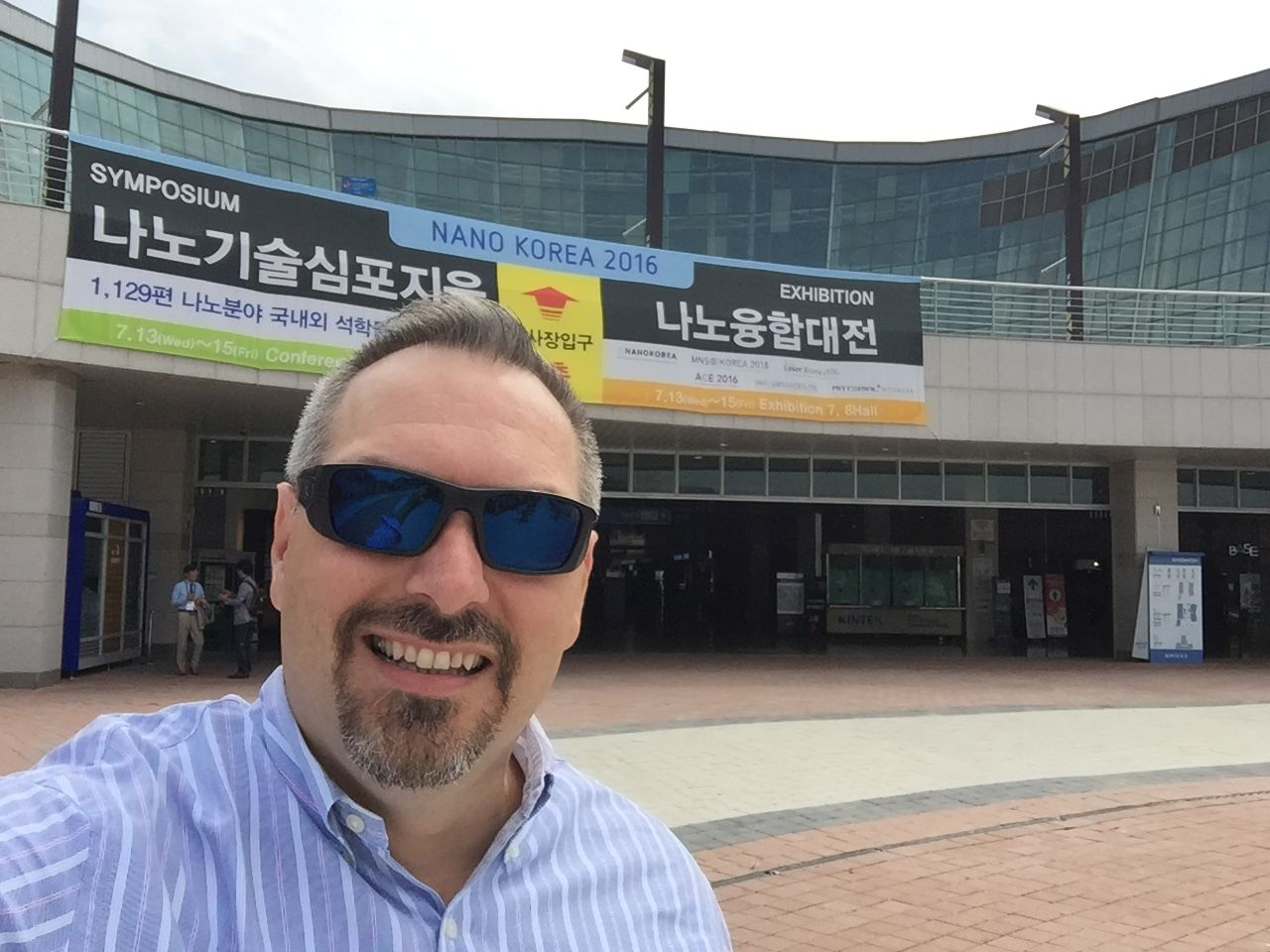 We are going to visit NanoKorea.