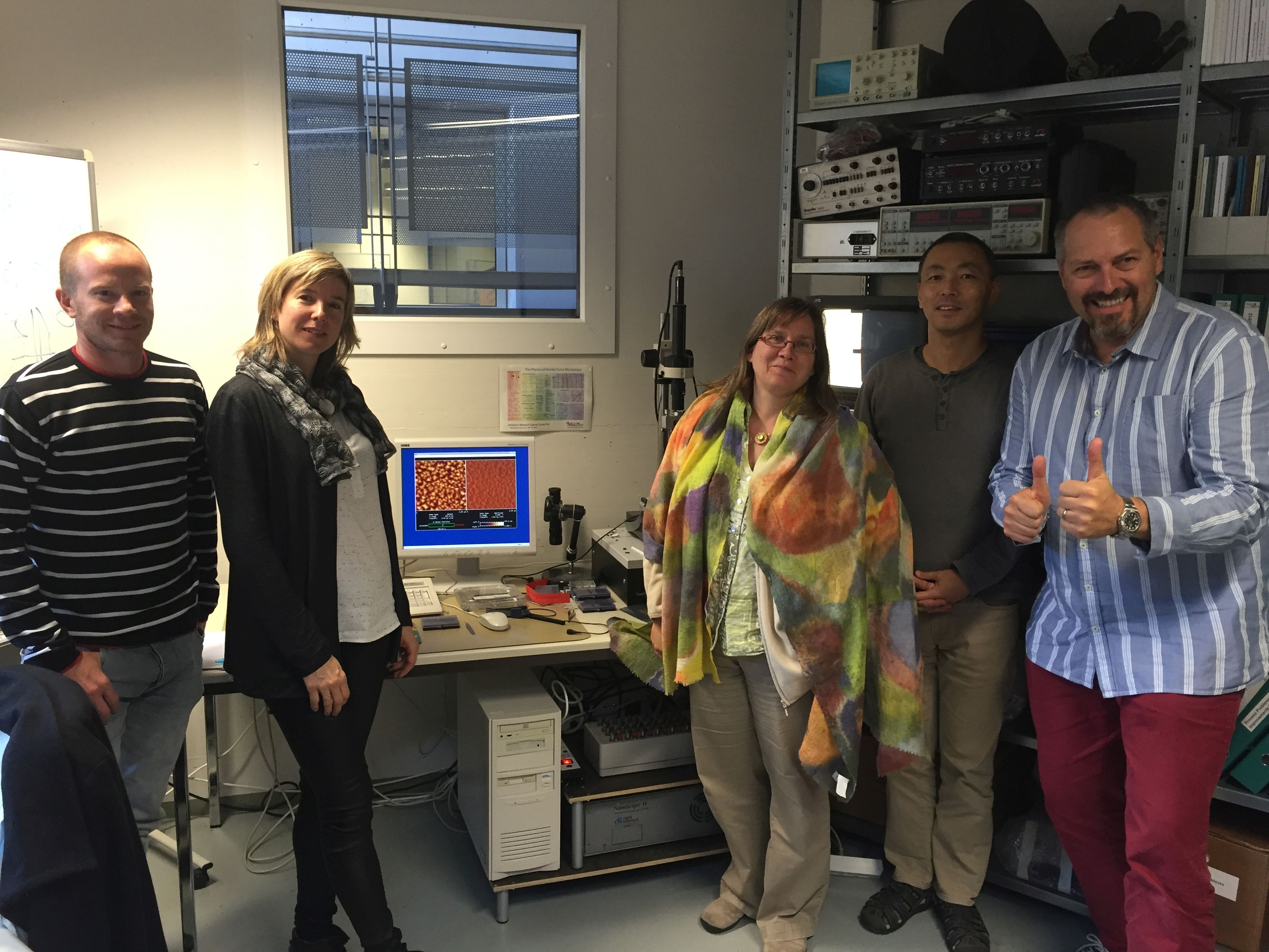 Successful AFM probe prototype testing at NANOSENSORS
